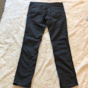 Levi's Jeans - Levi's 511 jeans 34 x 34 dark gray color slim fit